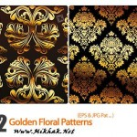 golden.floral.patterns
