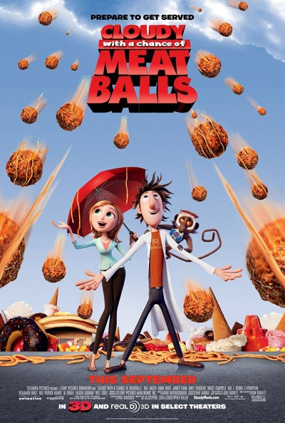 انیمیشن Cloudy With A Chance of Meatballs 2009